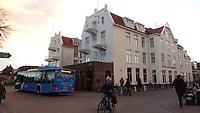 SCHIERMONNIKOOG - Hotel Pension Van der Werff, Waddeneiland Schiermonnikoog.  ANP COPYRIGHT KOEN SUYK