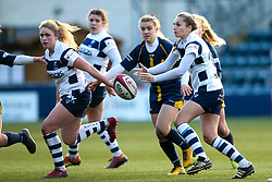 Becky Hughes of Bristol Bears Women - Mandatory by-line: Robbie Stephenson/JMP - 01/12/2019 - RUGBY - Sixways Stadium - Worcester, England - Worcester Warriors Women v Bristol Bears Women - Tyrrells Premier 15s