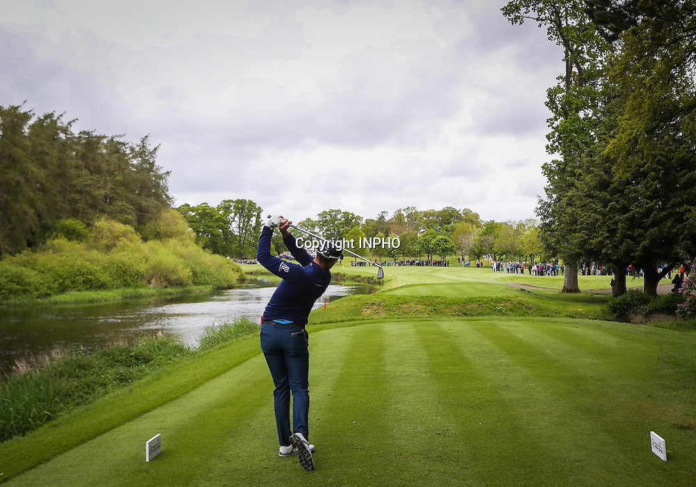 2016 Dubai Duty Free Irish Open Day 2, The K Club, Co. Kildare 20/5/2016<br /> Danny Willett at the 17th hole<br /> Mandatory Credit &copy;INPHO/Ryan Byrne