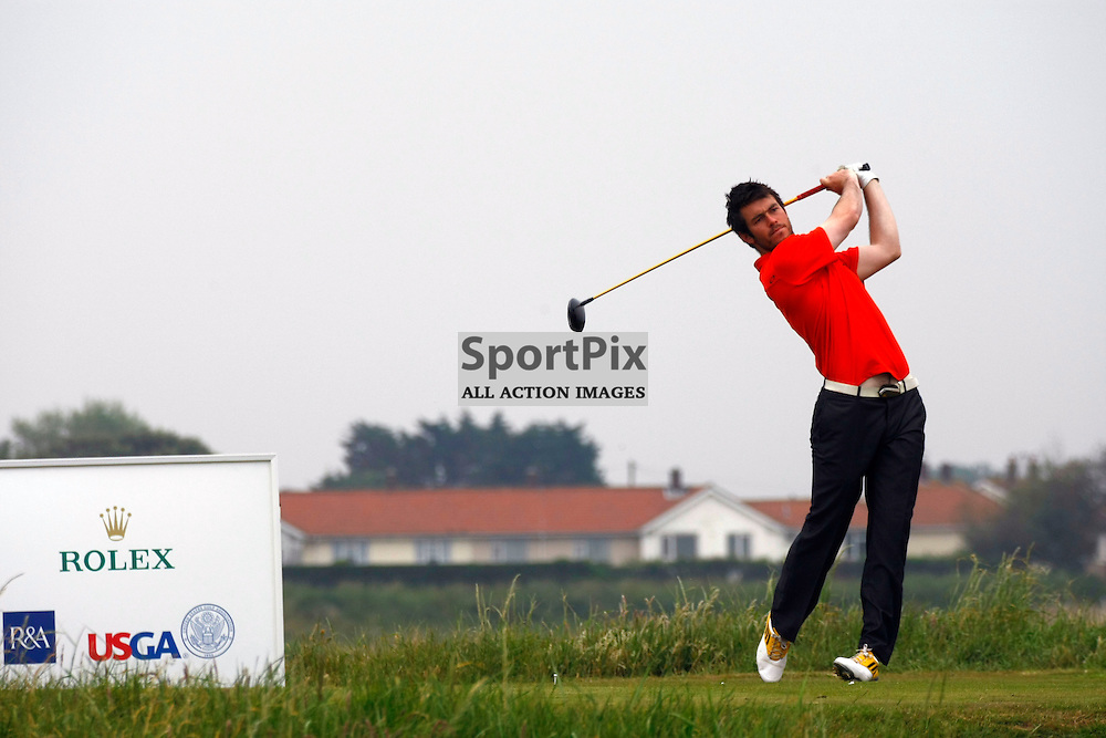 Aaron Kearney, Castlerock. Winner match 8. 20th June Match Play Round 3 last 32. 118th Amateur Championships between 17-22 June 2013 Royal Cinque Ports Golf Club Deal, Kent (c) MATT BRISTOW | SportPix