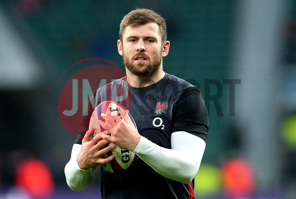 Elliot Daly of England - Mandatory by-line: Robbie Stephenson/JMP - 18/11/2017 - RUGBY - Twickenham Stadium - London, England - England v Australia - Old Mutual Wealth Series