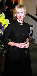 TRUDIE STYLER wife of rock star Sting, at a party in London on 15th September 1999.MWJ 5