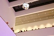 Mannheim. 15.12.17 |<br /> Kunsthalle. Neubau. Nachtaufnahmen von Aussen mit der Mesh-Fassade. Eröffnung<br /> <br /> Bild-ID 052 | Markus Proßwitz 15DEC17 / masterpress