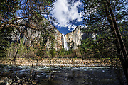 Bridalveil Falls Of Yosemite National Park