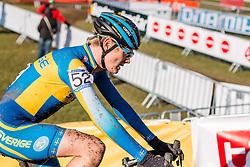 David Eriksson (SWE), Men Under 23, Cyclo-cross World Championships Tabor, Czech Republic, 1 February 2015, Photo by Pim Nijland / PelotonPhotos.com
