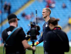 TV camera's on Joe Hart of Manchester City before kick off - Mandatory by-line: Matt McNulty/JMP - 13/08/2016 - FOOTBALL - Etihad Stadium - Manchester, England - Manchester City v Sunderland - Premier League