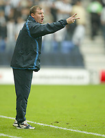 Photo: Aidan Ellis.<br /> Wigan Athletic v Newcastle United. The Barclays Premiership. 15/10/2005.<br /> Wigan manager Paul Jewell