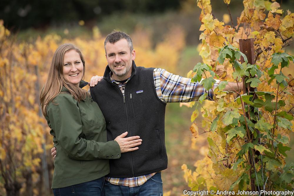 Erica Landon & Ken Pahow, Walter Scott, Eola Amity Hills AVA, Willamette Valley, Oregon