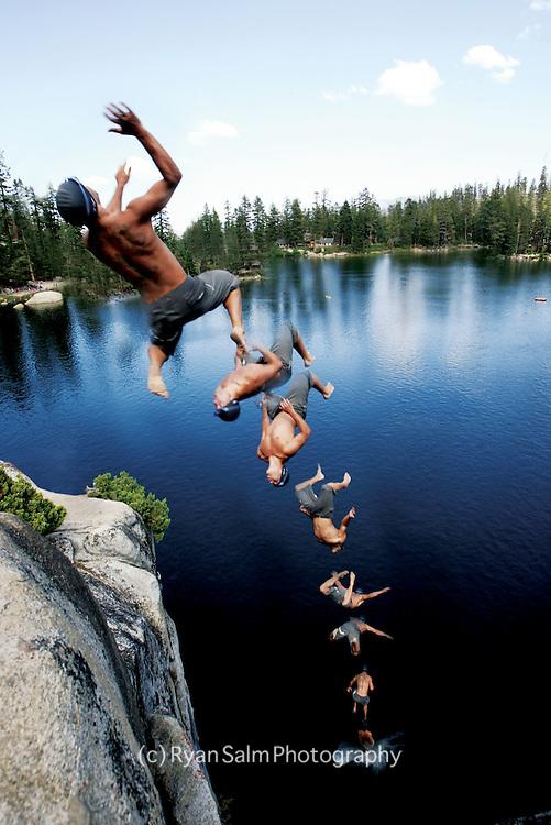 John Epsteyn, <br /> Angora Lake, Lake Tahoe