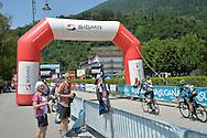 Trans Alp 2016 Arrivo a Levico Terme, 1 luglio 2016 © foto Daniele Mosna