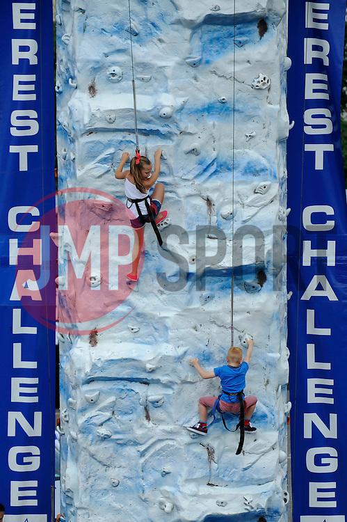 Everest Challenge at the Bristol Rovers Fun Day - Photo mandatory by-line: Dougie Allward/JMP - Mobile: 07966 386802 27/07/2014 - SPORT - FOOTBALL - Bristol - Bristol Rovers - - Memorial Stadium - Fun Day