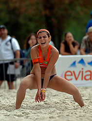 27-07-2005: BEACHVOLLEYBAL: SWATCH WORLD TOUR: PARIJS<br /> <br /> ©2005-WWW.FOTOHOOGENDOORN.NL