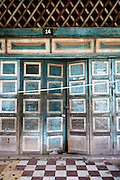 Old doors to French Colonial building