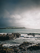 Seascape from Wellington, New Zealand.