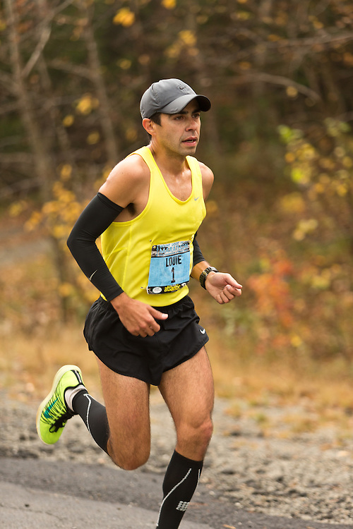 Mount Desert Island Marathon: Louie Luchini, male winner