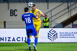 Lovro Bizjak of NK Domzale during 2nd leg football match between NK Domzale and NK Siroki Brijeg in 1st Qualifying round of UEFA Europa League, on July 19, 2018 in Domzale Sports Park, Domzale, Slovenia. Photo by Ziga Zupan / Sportida