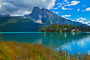 Mount Burgess and Emerald Lake<br /> Yoho National Park<br /> British Columbia<br /> Canada