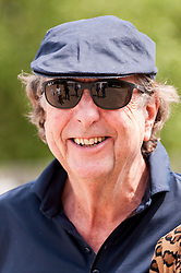 "© Licensed to London News Pictures. 05/06/2015.   London, UK. Eric Idle, Monty Python star was one of the guests taking part in ""Freddie for the Day"", by playing a special game of celebrity Pétanque, competing for the Londonaise 'Celebrity Pétanque Trophy', ahead of The Londonaise Pétanque festival this weekend in Barnard Park, Islington.  The festival will set a new precedent in the UK with 128 teams taking part in the main tournament.  The event also aims to raise funds for the Mercury Phoenix Trust to fight against AIDS worldwide. Photo credit : Stephen Chung/LNP"