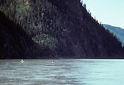 Canoe, Yukon River, Yukon Charley Rivers National Preserve, Alaska