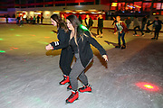 Mannheim. 03.11.17 | Eisdisco in der Eishalle.<br /> Neckarstadt. Leistungszentrum Eissport.<br /> Eisdisco in der Eislaufhalle.<br /> Zu Black, House 80er, 90er und aktuellen Charts über die Eisfläche tanzen, die neuesten Sprünge zeigen oder einfach Freunde treffen und mit ihnen Runden zu tollen Lichteffekten drehen.<br /> <br /> <br /> BILD- ID 22174 |<br /> Bild: Markus Prosswitz 03NOV17 / masterpress (Bild ist honorarpflichtig - No Model Release!)