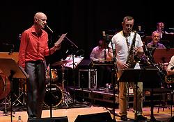 Edinburgh International Film Festival, Friday 23rd June 2017<br /> <br /> TOMMY SMITH RECEPTION with the Scottish National Jazz Orchestra<br /> <br /> Tam Dean Burn and Tommy Smith<br /> <br /> (c) Alex Todd | Edinburgh Elite media