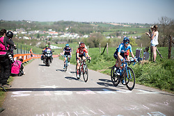 the Amstel Gold Race - Ladies Edition - a 126.8 km road race, between Maastricht and Valkenburg on April 21, 2019, in Limburg, Netherlands. (Photo by Balint Hamvas/Velofocus.com)