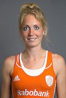 ARNHEM - Willemijn Bos. Nederlands Hockeyteam dames voor Wereldkamioenschappen hockey 2014. FOTO KOEN SUYK