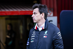 February 18, 2019 - Barcelona, Barcelona, Spain - Toto Wolf Team Chief of Mercedes AMG Petronas Motorsport W10 portrait during the Formula 1 2019 Pre-Season Tests at Circuit de Barcelona - Catalunya in Montmelo, Spain on February 18, 2019. (Credit Image: © Xavier Bonilla/NurPhoto via ZUMA Press)