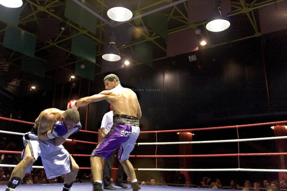 boxe, Genève Palladium 14 octobre 2010