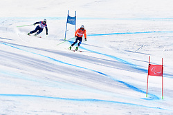GALLAGHER Kelly B3 GBR Guide: SMITH Gary competing in ParaSkiAlpin, Para Alpine Skiing, Super G at PyeongChang2018 Winter Paralympic Games, South Korea.