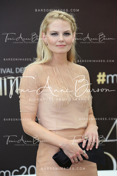 """MONTE-CARLO, MONACO - JUNE 09:  Jennifer Morrison attends """"Once Upon a Time"""" photocall at the Grimaldi Forum on June 9, 2014 in Monte-Carlo, Monaco.  (Photo by Tony Barson/FilmMagic)"""