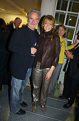 Actor TREVOR EVE and his wife actress SHARON MAUGHAN at a party to celebrate the 25th anniversary of leading restaurant Le Caprice held at The Serpentine Gallery, London on 3rd October 2006.<br /><br />NON EXCLUSIVE - WORLD RIGHTS