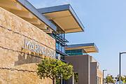 Marina Park Signage in Newport Beach