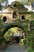 Mission Inn Entrance Courtyard, Riverside, California