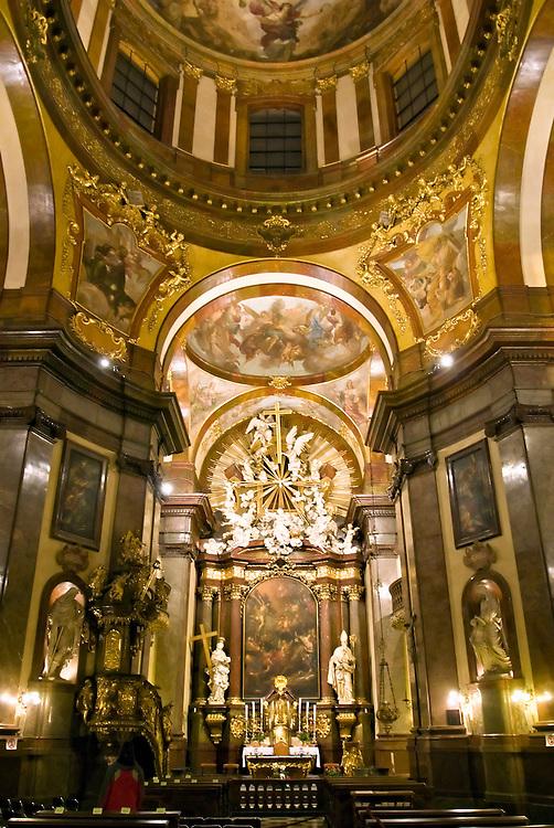 CZE,Tschechien,Tschechische Republik,Prag,CZE,Czech Republic,Prague,- St. Franziskus-Kirche - Sankt Francis of Assisi church