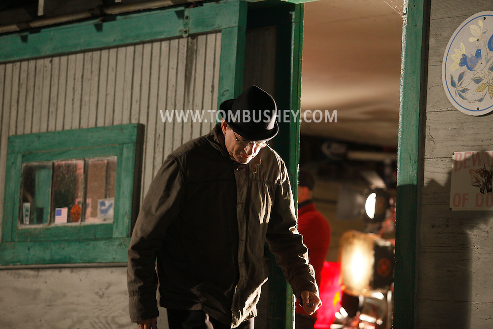 "Goshen, NY - The feature movie ""Collar"" films on location in Goshen on Sunday, Oct. 11, 2009."