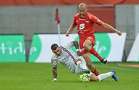 Fotball, 1. august 2020, Eliteserien, Brann-Vålerenga - Ruben Kristiansen<br /> Aron Dønnum