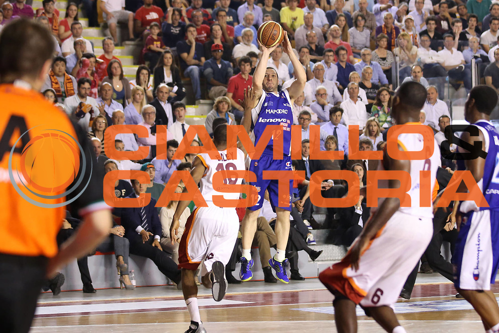 DESCRIZIONE : Roma Lega A 2012-2013 Acea Roma Lenovo Cantu playoff semifinale gara 7<br /> GIOCATORE : Nicolas Mazzarino<br /> CATEGORIA : tiro<br /> SQUADRA : Lenovo Cantu<br /> EVENTO : Campionato Lega A 2012-2013 playoff semifinale gara 7<br /> GARA : Acea Roma Lenovo Cantu<br /> DATA : 06/06/2013<br /> SPORT : Pallacanestro <br /> AUTORE : Agenzia Ciamillo-Castoria/ElioCastoria<br /> Galleria : Lega Basket A 2012-2013  <br /> Fotonotizia : Roma Lega A 2012-2013 Acea Roma Lenovo Cantu playoff semifinale gara 7<br /> Predefinita