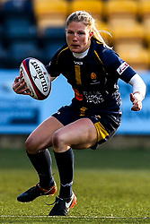 Lydia Thompson of Worcester Warriors Women - Mandatory by-line: Robbie Stephenson/JMP - 01/12/2019 - RUGBY - Sixways Stadium - Worcester, England - Worcester Warriors Women v Bristol Bears Women - Tyrrells Premier 15s