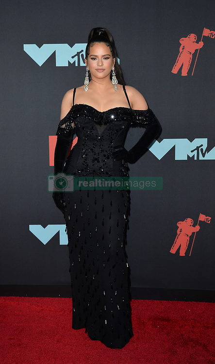 August 26, 2019, New York, New York, United States: ROSALÍA arriving at the 2019 MTV Video Music Awards at the Prudential Center on August 26, 2019 in Newark, New Jersey  (Credit Image: © Kristin Callahan/Ace Pictures via ZUMA Press)