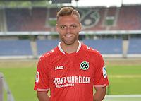 German Soccer Bundesliga 2015/16 - Photocall of Hannover 96 on 13 July 2015 in Hanover, Germany: Maurice Hirsch