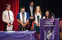 National Technical Honor Society Induction Ceremony  April 21, 2011.