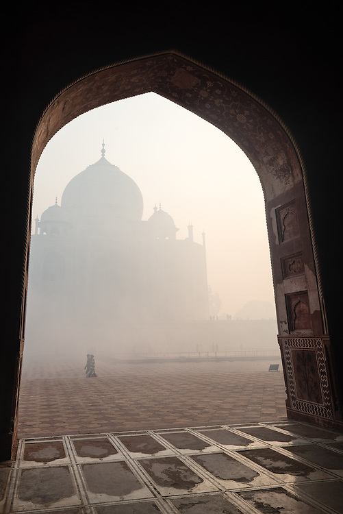 Arches at Taj Mahal, India