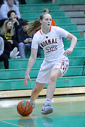 17 November 2018:  Normal West Wildcats v Normal Ironmen at Girls Intercity in the gym at University High School in Normal IL