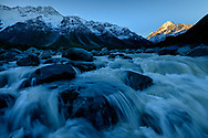 Oceania, New Zealand, Aotearoa, South Island, Mount Cook National Park