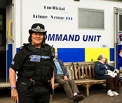 Pictured: Superintendent Lesley Clark<br /> Superintendent Lesley Clark and collagues gathered at  at the police base for the Operation Summer City 2016 campaign, Venue 999<br /> <br /> (c) Ger Harley | Edinburgh Elite media