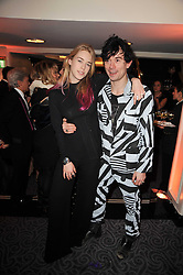 MARY CHARTERIS and ROBBIE FURZE at Quintessentially's 10th birthday party held at The Savoy Hotel, London on 13th December 2010.