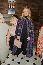 POPPY JAMIE at a party to celebrate the launch of the Beth Ditto Clothing Line held at The London Edition, Berners Street, London on 18th February 2016.