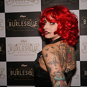 London,England,UK. 22th May 2017. Sakura Cyanide *London, UK preforms at the London Burlesque Festival 2017 - Tattoo Revue at Moth Club, Hackney,London,UK. by See Li
