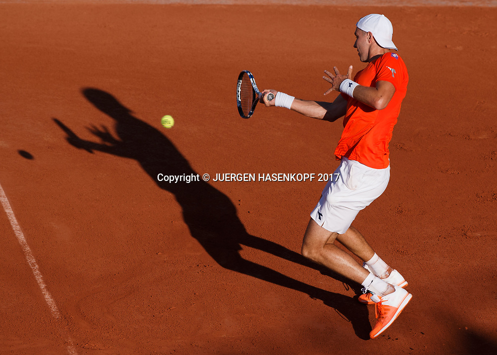 JAN-LENNARD STRUFF (GER)<br /> <br /> Tennis - French Open 2017 - Grand Slam ATP / WTA -  Roland Garros - Paris -  - France  - 30 May 2017.